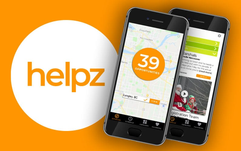 Helpz – UX App Design