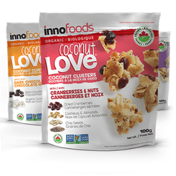 InnoFoods Love Crunch packaging and branding example