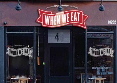 When We Eat Brand Concept